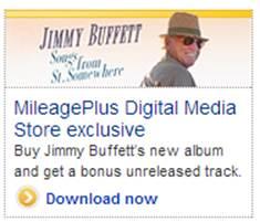 Jimmy Buffett Ad tile